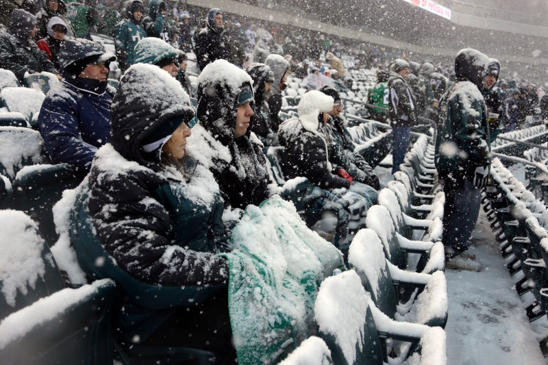 Lions-Eagles Is A Beautiful, Snow-Filled Mess