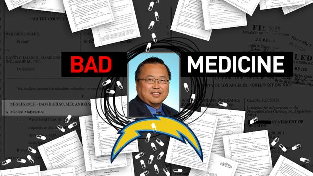 The Chargers' Doctor Is A Drunk Quack. Why Haven't They Fired Him?