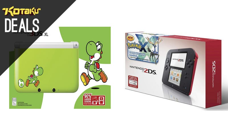 2DS with Pokemon X for $100, 3DS XLs On Sale, 840 EVO 1TB, South Park