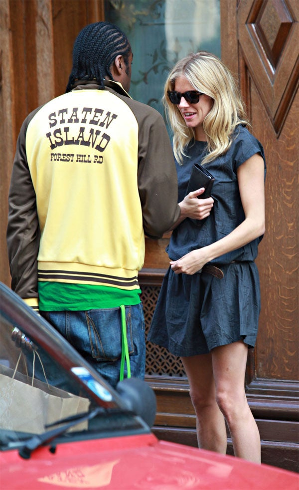 Sienna Miller Gets An Outer Borough Eyeful