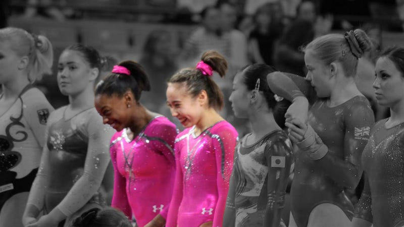 Have Rio's U.S. Gymnastics Darlings Already Arrived? Meet Katelyn Ohashi And Simone Biles