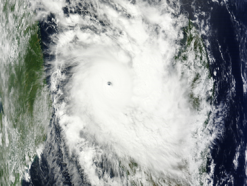 Intense 160 MPH Tropical Cyclone on Track to Pound Madagascar