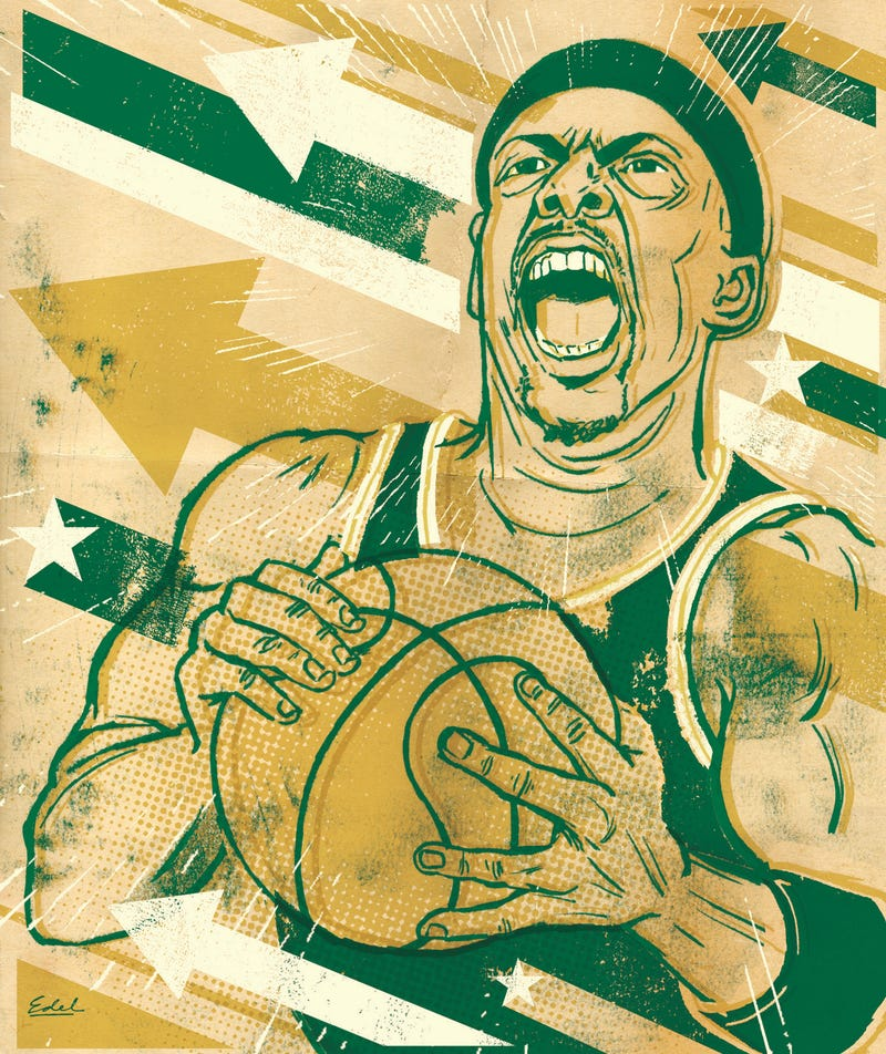 The Sports Illustrations Of Edel Rodriguez