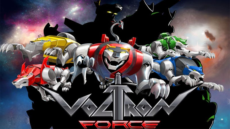Let's Go To Comic-Con, Voltron Force!