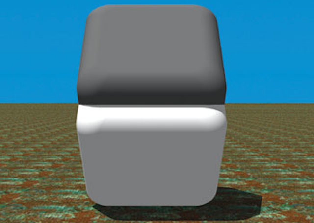 What kind of sorcery illusion lets these two blocks be the same color?