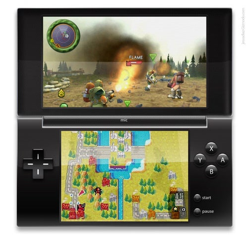 Next-Generation Nintendo DS May Get Tilt Controls