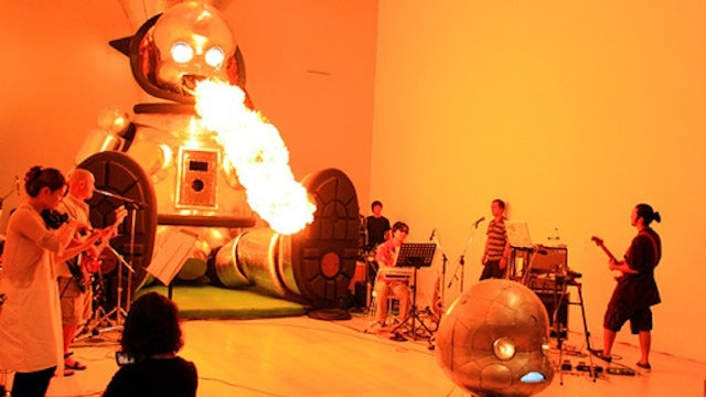 Fire-breathing robotic sculptures are amazing and terrifying