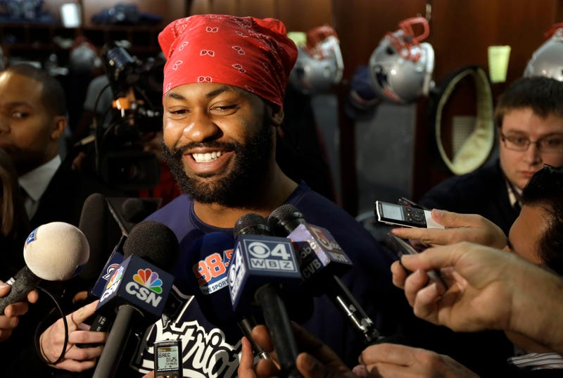 Bitchy Pats Fans Harass Brandon Spikes After He Talks About Winning