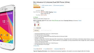 Friendly Notice: BLU Advance 4.0 is today's Amazon Goldbox special!