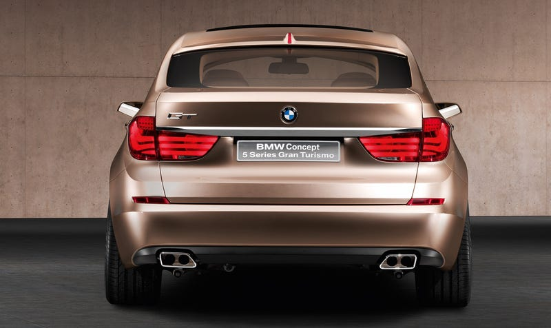 BMW 5-Series GT Concept Officially Shows Off Flexible Rear