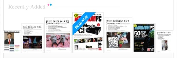 MagMe Puts Full Scans of Magazines in Your Browser