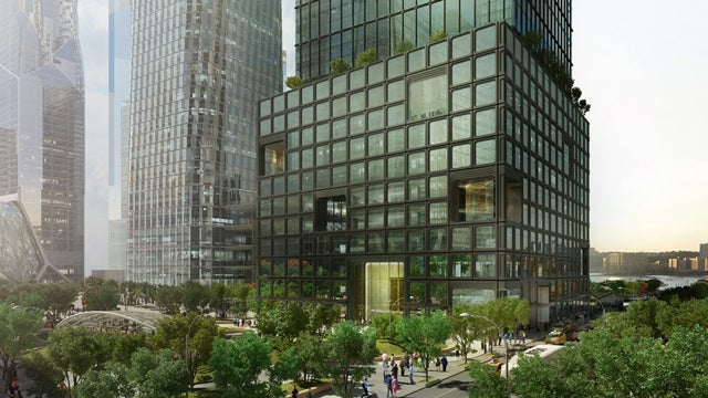 How This NYC Skyscraper Is Being Built On Top of an Existing Building