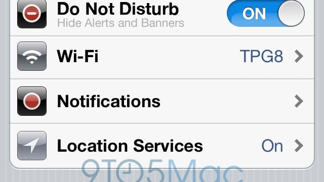 iOS 6 Might Get a Do Not Disturb Feature That Stops Annoying Notifications from Taking Over Your Phone