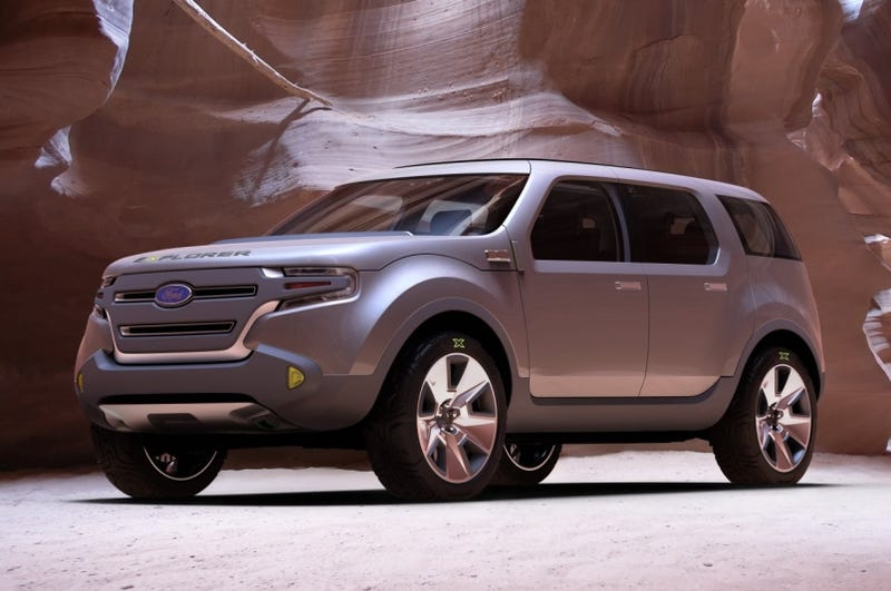 2011 Ford Explorer To Be Built In Chicago, Taurus X-Based?
