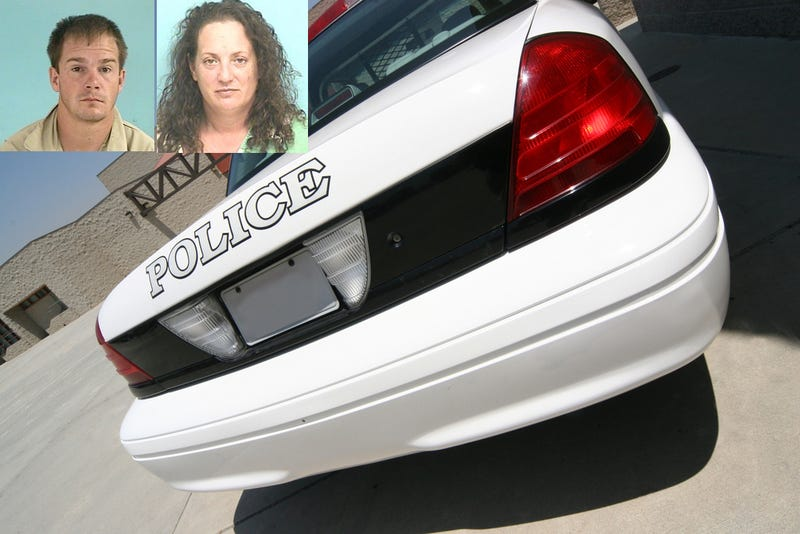 Arrested Woman Gives Arrested Man Head in Police Cruiser