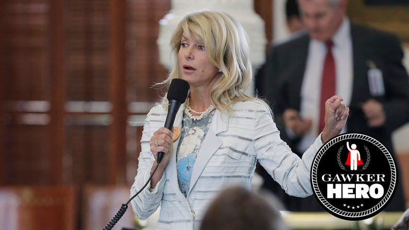 ​Gawker Heroes: Wendy Davis