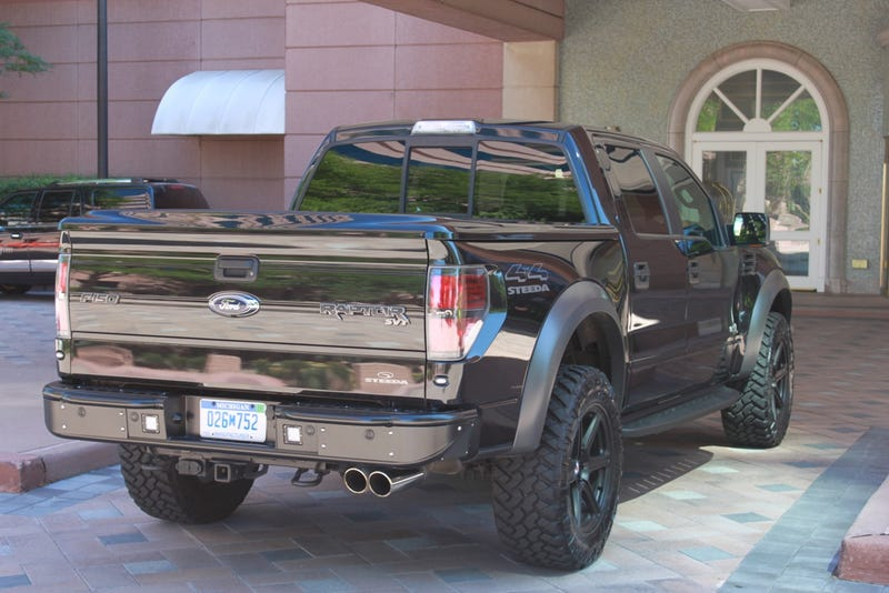 Is Mustang Tuner Steeda Planning A Special 'Last V8' Ford Raptor?