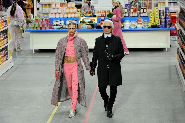 Chanel's Fall-Winter Show Took Place in a High-Fashion Supermarket