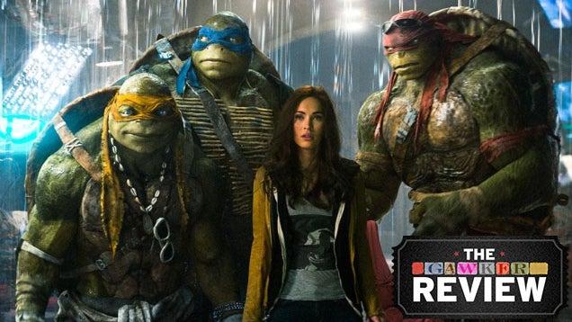 Megan Fox's Face Cannot Save New Teenage Mutant Ninja Turtles Movie