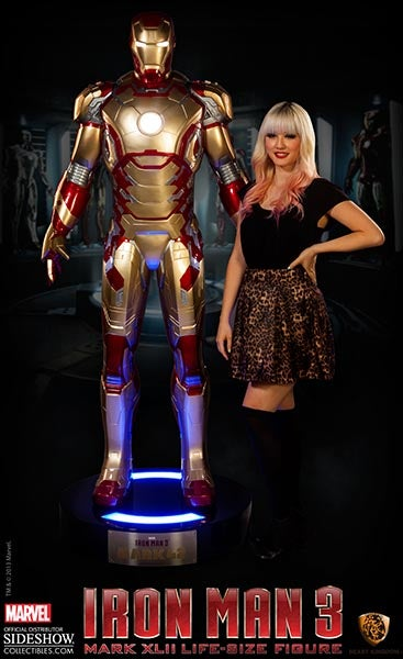 You Can Buy Your Own Life-Sized Iron Man. Tony Stark Not Included.