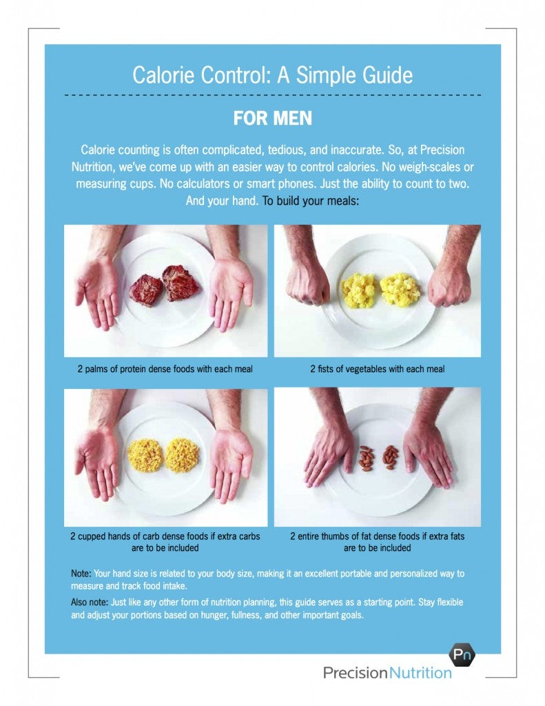 Use Your Hands to Easily Plan Proper Meal Portions