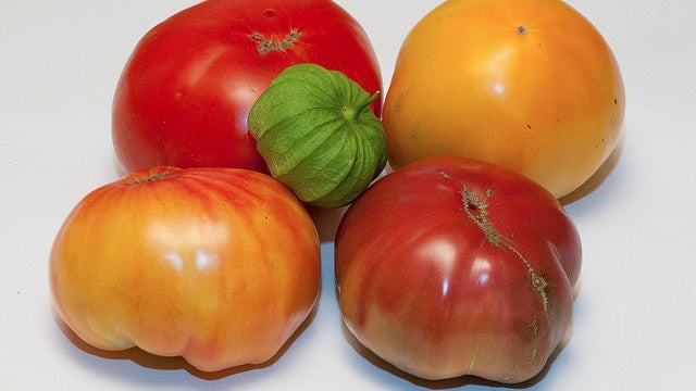 Store Tomatoes Stem-End Down to Keep Them from Rotting Too Quickly