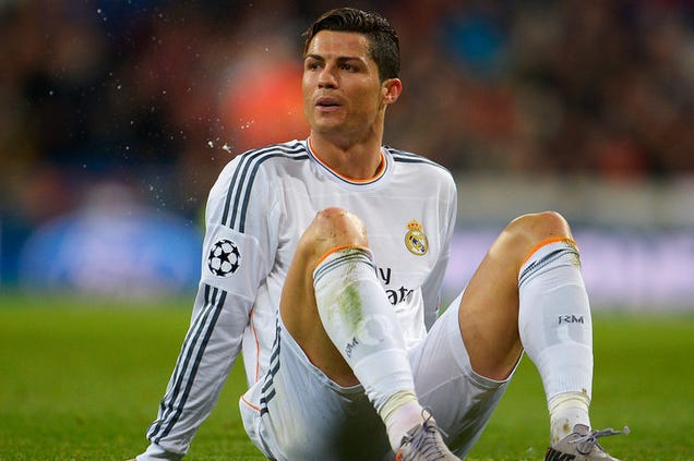 Cristiano Ronaldo's knee has not fully recovered