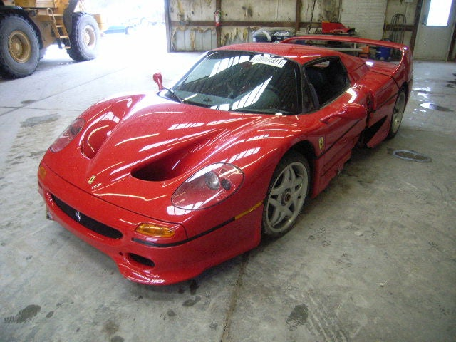 Ferrari F50: Auction Images