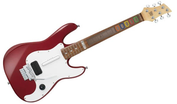 Logitech Premiere Edition Guitar Is Such, Such Guitar Hero Overkill