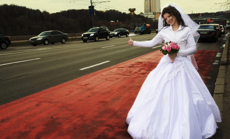 Groom Forgets Bride at Gas Station On Way Home from Honeymoon