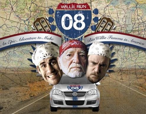 WillieRun 2008: Coast-To-Coast Trip To Promote BioWillie Diesel Fuel