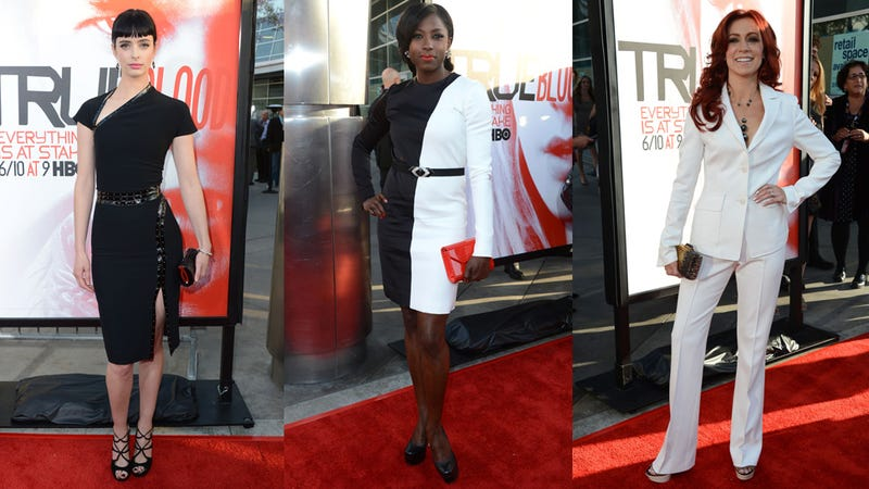 Tan Vampires Attend the True Blood Premiere at Sunset
