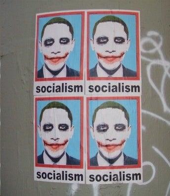 Obama Street Art: Only 99% Positive