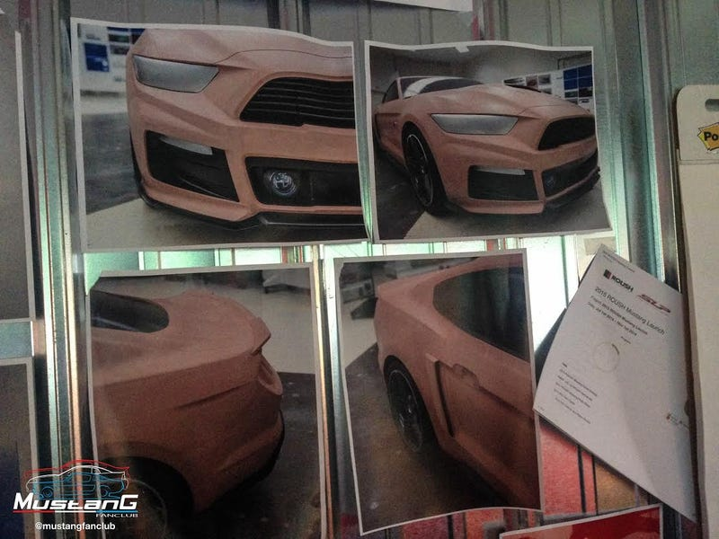 Here's Even More Renders Of The Kickass 2015 Roush Ford Mustang