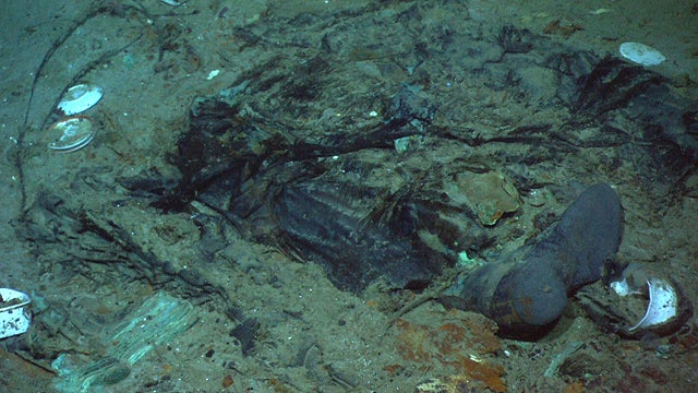 Possible Human Remains Found in Titanic Shipwreck