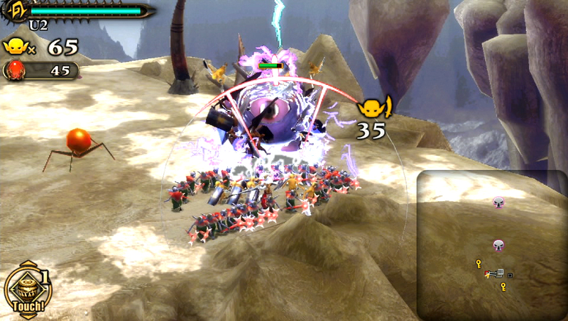 New Screens for Army Corps of Hell Show Off Elemental Attacks and Giant Insect Bosses on PlayStation Vita
