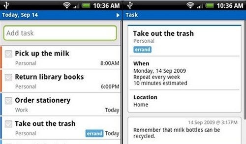 Best Mobile To-Do List Manager: Remember the Milk