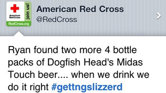 How This Drunk Tweet Got Sent From the American Red Cross's Account