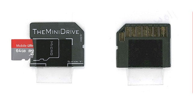 MiniDrive Adds Seamless Flash Storage to Your Mac via the SD Card Slot