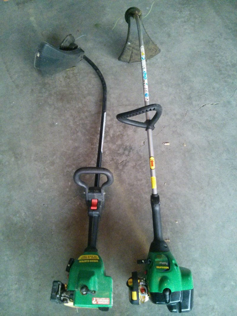 Picked up two non-running trimmers. Calling Oppo 2-stroke specialists
