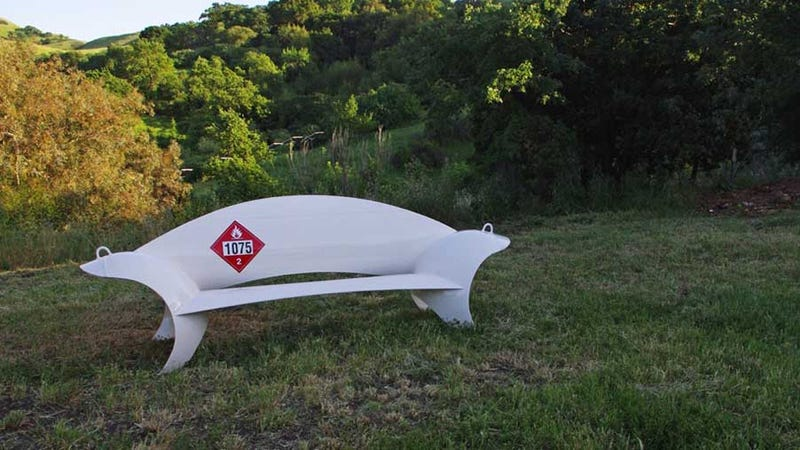 This Is the Propane Tank Bench of Hank Hill's Dreams