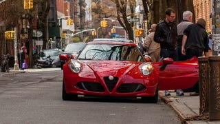 What It's Like To Drive Across Manhattan In An Alfa 4C