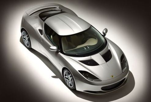 Lotus Evora Debuts At British Motor Show