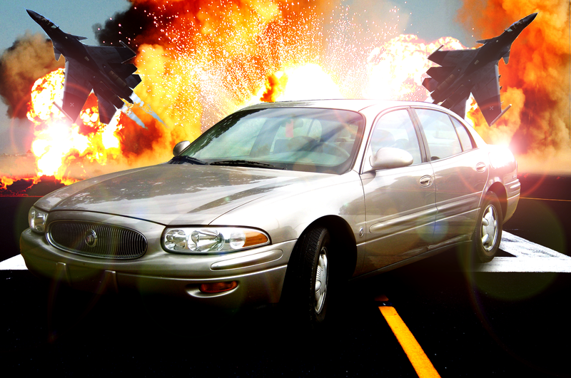 Your totally badass photoshopped Buick of the day is here