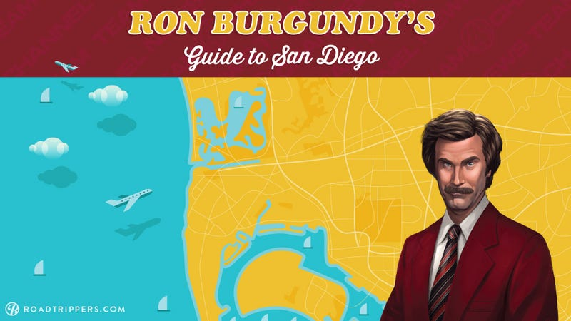 Stay Classy With Ron Burgundy's Guide to San Diego