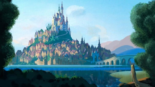 First Photos From Disney's Rapunzel: Finally, A Blonde Disney Heroine!