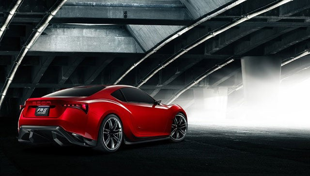 Scion FR-S is the new Toyota FT-86