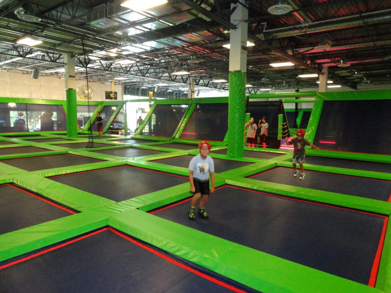 Rebounderz Would Like You To Know That Joba Chamberlain Did Not Get Injured At Rebounderz, But At A Non-Rebounderz Brand Trampoline Arena