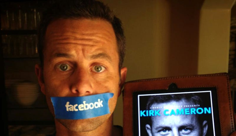 Facebook, YouTube Won't Let You See Kirk Cameron's New Movie Trailer