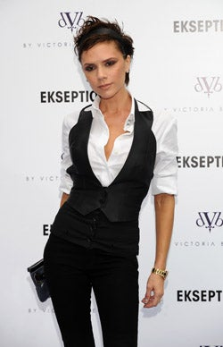 Style Icon, Designer Victoria Beckham Gets Surreal